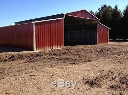 Métal 44x31 A-cadre Acier Bâtiment Cheval Grange Animal Agricole Gratuit Installer