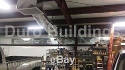Metal Building Durobeam Steel 30'x48'x16' Kit Auto Ascenseur Garage Atelier Direct