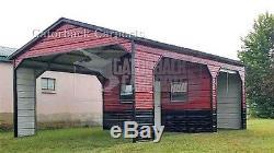 Metal-barn-40 X 36 X 12 Bâtiment En Acier Garage Agricole Free-delivery-setup