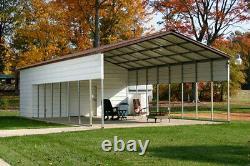 Pré-fab, Granges, Bâtiments En Acier, Abris D'auto, Garages, Ports Rv, Hangars, Bâtiment Utilitaire