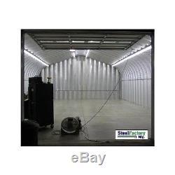 Préfabriqué En Acier Usine P20x30x12 Panneaux De Couleur Kit De Construction D'atelier De Garage En Métal
