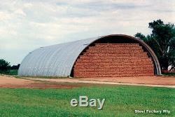 Steel Factory 50x50x19 Arc Métal Quonset Bâtiment Ferme Utiliser L'élevage Abri
