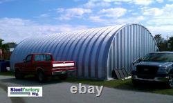 Steel Factory S30x30x14 Metal Storage Building Horse Barn Préfabriqué Arch Panel Kit