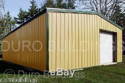 Structure D'atelier De Garage Automatique En Acier Durobeam En Acier 40x50x14 Avec Kit De Construction En Métal Direct