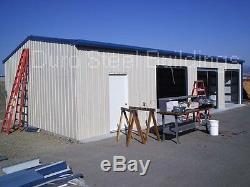 Structure De Magasin De Garage En Acier Durobeam En Acier 40x80x12 À Ossature Métallique Et Poutres En I Direct