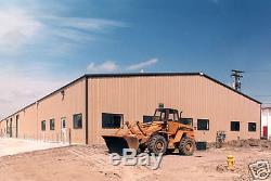Trousse De Construction De Garage À Cadre En Métal Galvanisé, Fabrication Acier, Fabrication 30x60x16