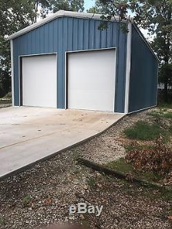 Trousse De Garage / Atelier En Acier 36'x45'x12 'excel Metal Building Systems Inc