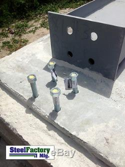 Usine D'acier Mfg 40x60x14 Armature En Métal I-beam Atelier De Construction De Garage