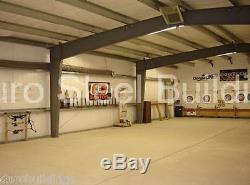 Usine De Bâtiment De Stockage De Garage D'envergure D'espace Libre En Métal De L'acier Durobeam 40x60x15 En Métal Direct