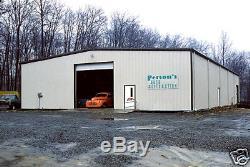 Usine En Acier Mfg 30x50x10 Auto Body Garage Atelier De Stockage Métal Bâtiment Kit
